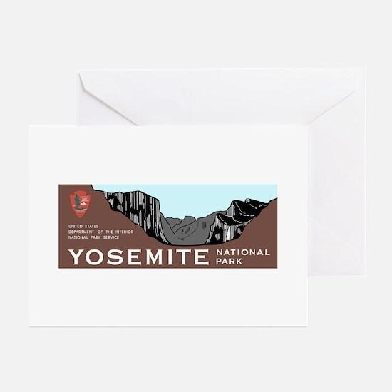 Yosemite National Park, Greeting Cards (Pk of 10)
