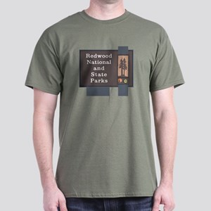 Redwood National and State Parks, Cal Dark T-Shirt