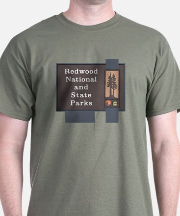 Redwood National and State Parks, Cal T-Shirt