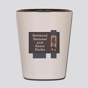 Redwood National and State Parks, Calif Shot Glass