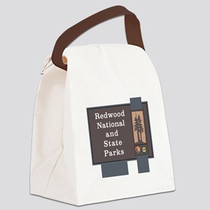 Redwood National and State Parks, Canvas Lunch Bag