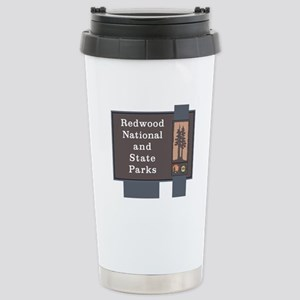 Redwood National and St Stainless Steel Travel Mug