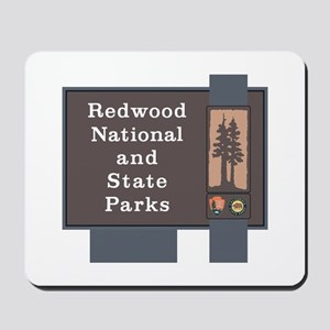 Redwood National and State Parks, Califo Mousepad