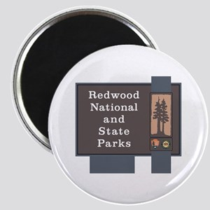 Redwood National and State Parks, Californi Magnet