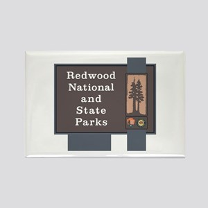 Redwood National and State Parks, Rectangle Magnet