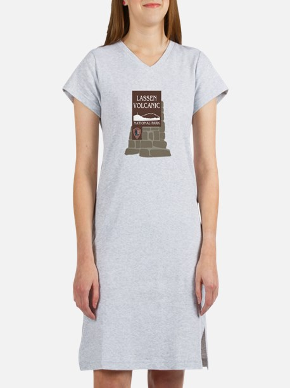 Lassen Volcanic National Park, Women's Nightshirt