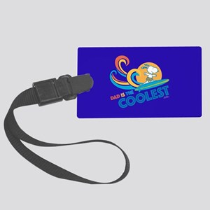 Coolest Dad Large Luggage Tag