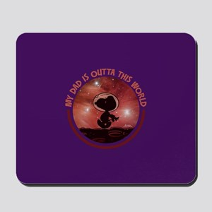 Dad Outta This World Mousepad