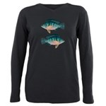 Nile Tilapia Plus Size Long Sleeve Tee