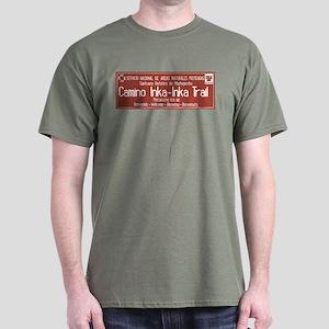 Inka Trail, Machupicchu, Peru Dark T-Shirt