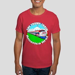 Trump Train America First Dark T-Shirt