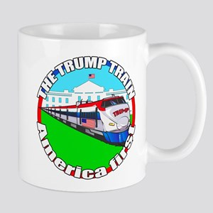 Trump Train America First Mug