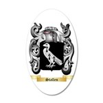 Stallen 35x21 Oval Wall Decal