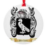 Stalham Round Ornament