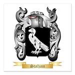 Stalham Square Car Magnet 3