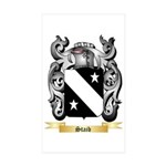 Staib Sticker (Rectangle 50 pk)