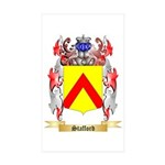 Stafford Sticker (Rectangle 50 pk)