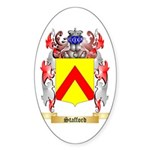 Stafford Sticker (Oval 50 pk)