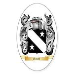 Staff Sticker (Oval 10 pk)