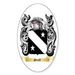 Staff Sticker (Oval 50 pk)