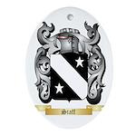 Staff Oval Ornament