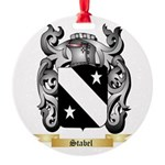 Stabel Round Ornament