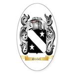 Stabel Sticker (Oval 50 pk)