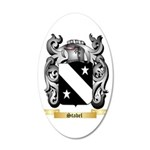 Stabel 20x12 Oval Wall Decal