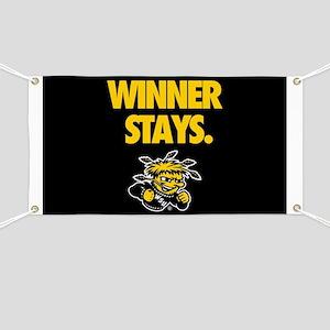 Wichita State Winner Stays Banner
