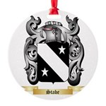 Stabe Round Ornament