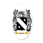 Stabe Oval Car Magnet