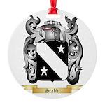 Stabb Round Ornament