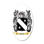 Stabb 20x12 Oval Wall Decal