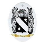 Stabb Oval Ornament