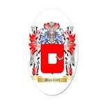 Squitieri Oval Car Magnet