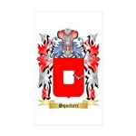 Squitieri Sticker (Rectangle 50 pk)