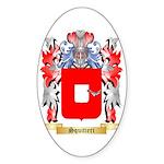 Squitieri Sticker (Oval 50 pk)