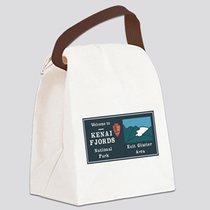 Kenai Fjords National Park, Alask Canvas Lunch Bag