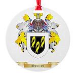 Squires Round Ornament