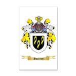 Squires Rectangle Car Magnet