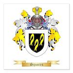 Squires Square Car Magnet 3
