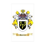 Squires Sticker (Rectangle 10 pk)