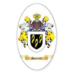 Squires Sticker (Oval 10 pk)