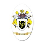 Squires 35x21 Oval Wall Decal