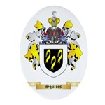 Squires Oval Ornament