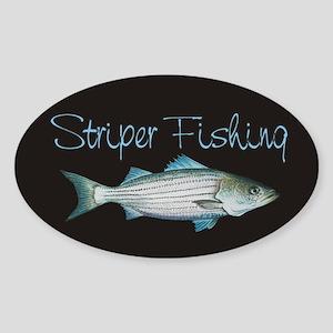 Striper Sticker (oval)