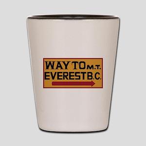 Way to Mt. Everest B. C., Nepal Shot Glass