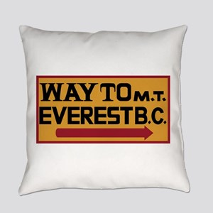 Way to Mt. Everest B. C., Nepal Everyday Pillow