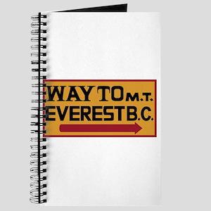 Way to Mt. Everest B. C., Nepal Journal