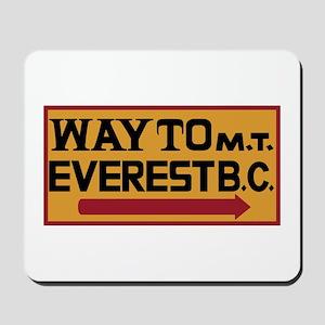 Way to Mt. Everest B. C., Nepal Mousepad